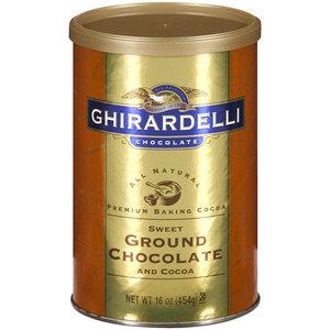 Ghirardelli Baking Ground Chocolate