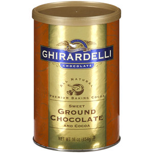 Ghirardelli Baking Ground Chocolate